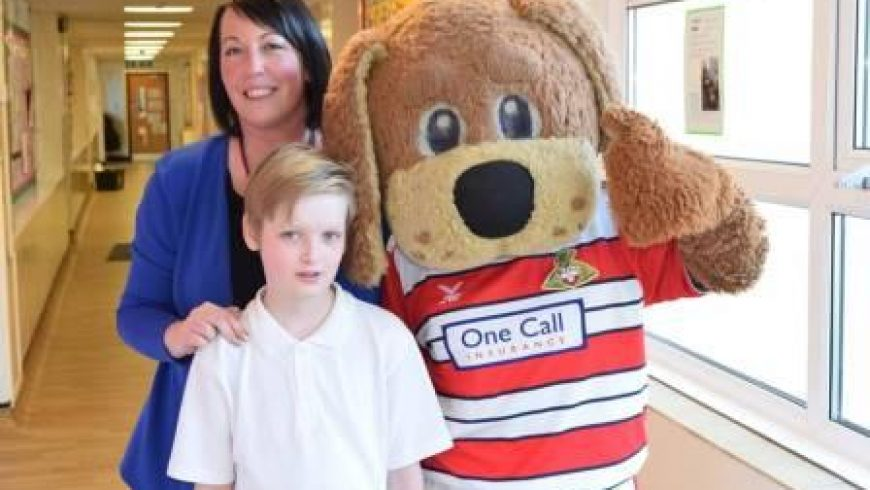 Doncaster Rovers Visit to School