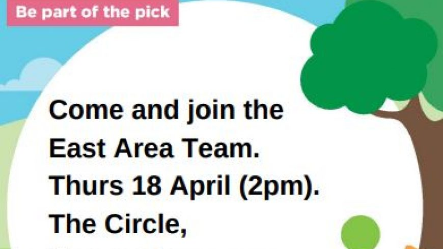 Join us in The Great British Spring Clean – 18th April, 2PM, The Circle, Moorends.